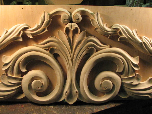 And Yet More Acanthus Leaves Fiebig Yundt Woodcarving