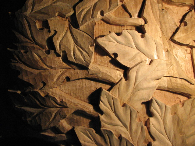 And yet more acanthus leaves… fiebig yundt woodcarving
