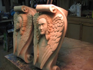 Shots of the completed Angels.